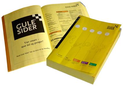 Telefonbog De Gule Sider
